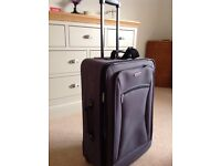 Large pull along suitcase