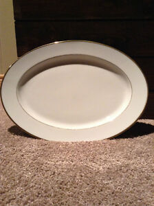 Noritake Heritage serving plate -numbered plate fine china