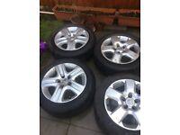 Vauxhall Zafira 4 steel wheel