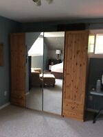 Mirrored Armoire from Ikea