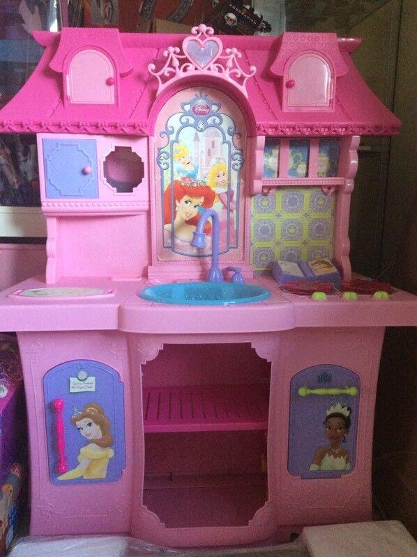 Princess musical kitchen