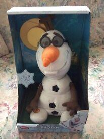 New! Singing Olaf Disney Store