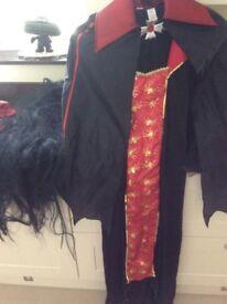 Ladies Vampire Halloween Costume - Size 16/18