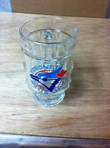 Toronto Blue Jays 24 oz. Glass Logo Mug *NEW*