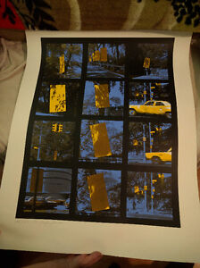 Lithos by M. Kadishman / Central Park/ Sheep 1 / 2 Cut out Trees