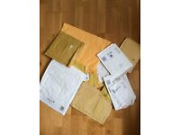 Padded envelopes for recycling- free