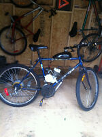 80 cc motorized mountain bike