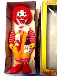 POUPÉE Ronald McDonald 1978
