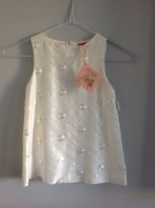 Toddler baptism flower girl dress // robe baptême bouquetière