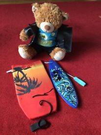 Build a bear surf dude and outfit.