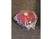 Cooks Professional Red Casserole Pot 27cm