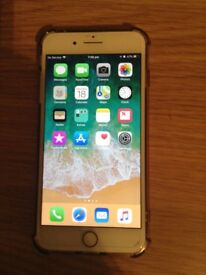 Rose gold iPhone 7 plus on o2 network 32gb