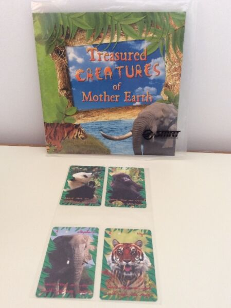 Treasured creatures of Mother Earth SMRT TransitLink cards