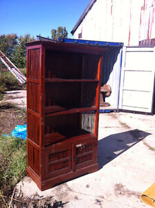 INDONESIAN SHELVING UNIT FOR SALE London Ontario image 1