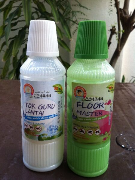 Floor Master natural insect repellant cleaner.
