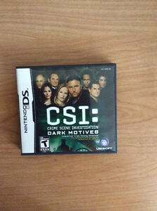 CSI: Crime Scene Investigation Dark Motives Nintendo DS Game