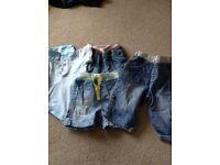 Baby shorts bundle next etc 3-6 months