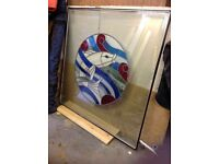 Stained glass double glazed unit