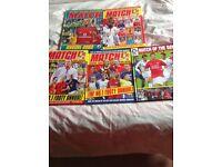 Match & Shoot Football Annuals x10