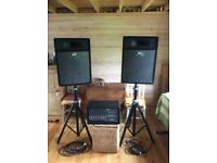 Peavey PA system / Peavey XR 696 F and Peavey pro 15's