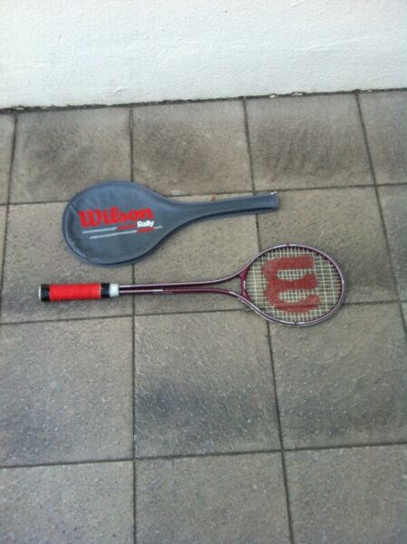 Wilson Rally squash racket new and never used before. Have just changed the grip