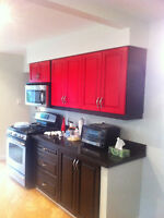 Get your kitchen cabinet sprayed any colour!