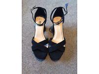 Women's size 8 wide fitting heels