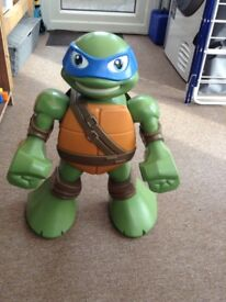 Teenage Mutant Ninja Turtle figure.