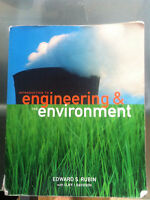 Introduction to Engineering and the Environment ENGR 202