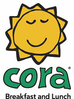 CORA BREAKFAST & LUNCH Robson - Cooks, Dishwashers, Managers