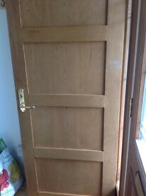 Solid wood doors