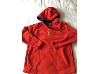 Ferrari fleece hoodie original apparel