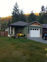 2 Bedroom/2 Bath home in Shawnigan Lake for Rent