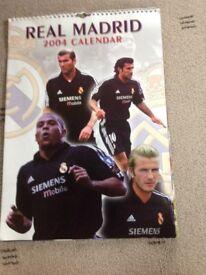 Real Madrid 2004 Football Calendar