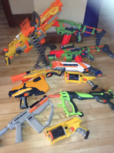 Nerf guns and others 80$ OBO
