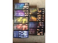 First 5 seasons of Buffy the Vampire Slayer on VHS - some unopened