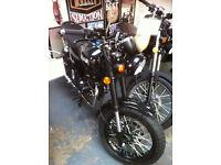 Bullit Hunt S 125. Naked Retro. Learner Legal Motorcycle