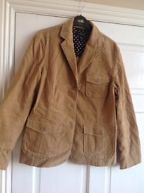 Ladies cordroy jacket new size 12 make lands end