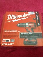 """Milliwakee m18 1/2"""" compact hammer drill/driver"""