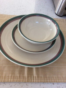 Soup Bowls, Cereal Bowls and Bread/Butter Plates