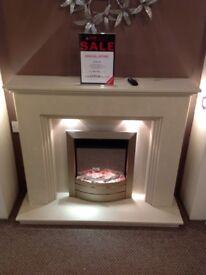 Step 48 Cream Fireplace
