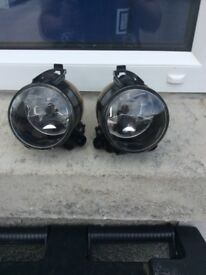 Two spotlights suitable for vw golf or jetta