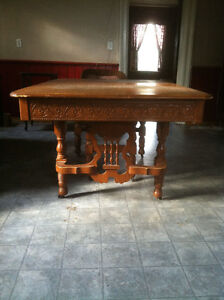 Antique dining table Peterborough Peterborough Area image 3