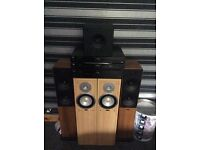 Tibo hi-fi speaker system(bass box,eltax speakers)