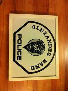 Alberta framed tribal police