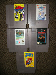 Gently Used Various Nintendo/NES Games(good working condition)