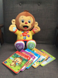 """VTECH """"CHAT AND LEARN READING MONKEY"""""""
