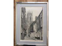 York scene limited print by Stuart Walton.