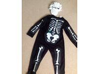 Halloween skeleton outfit - childrens