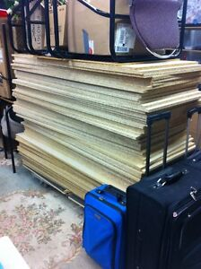 70 sheets chipboard